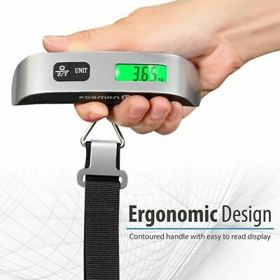 New Portable Handheld Luggage Weighing Digital 50/40Kg Travel/Scales Suitcase