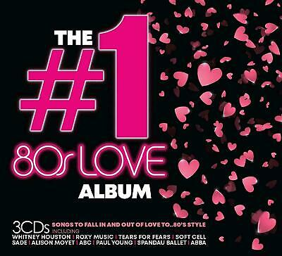 THE #1 80's LOVE ALBUM 3 CD (Released June 28th 2019) - 57 Classic Love Songs