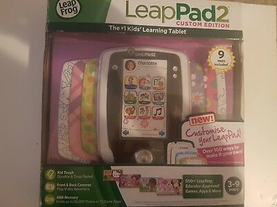 Leapfeog leappad 2 boxed with 4 games disney frozen BOXED