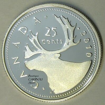 2010 Canada Silver Proof 25 Cents