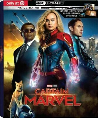 Captain Marvel (2019) Target Exclusive 4K UHD set (NO Digital or Blu-ray)