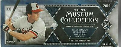 2019 Topps Museum Collection Factory Sealed Hobby Box 2 Autos 2 Memorabilia