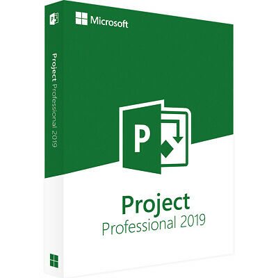 Microsoft Project 2019 Professional Licenza Software ESD - Original Key