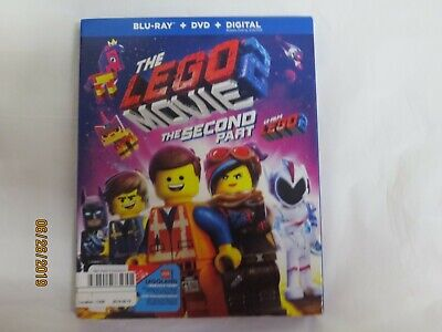 The LEGO Movie 2: The Second Part (Blu-ray + DVD + Digital, Bilingual) NEW