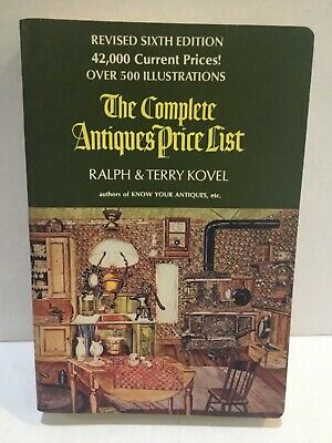 1973 The Complete Antiques Price List By Ralph & Terry Kovel
