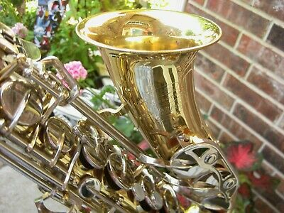 "Buescher Alto Saxophone ""Aristocrat"" 200, Shop Adjusted, Pro Selmer Mthp USA!"