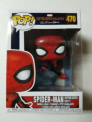 Funko Pop Spider-Man Far From Home #470 Spider-Man Upgraded Suit Brand New