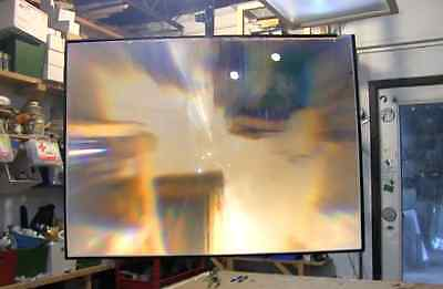 """FRESNEL LENS SPOT 29""""x20"""" Clear Solar Cooking Heat Mended"""