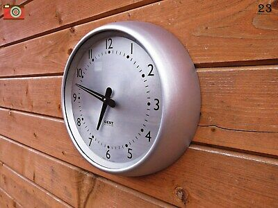 Vintage Retro, Gent Of Leicester Wall Clock. Nicely Restored & Updated