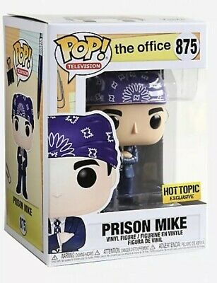 PRISON MIKE The Office Michael Scott Hot Topic Exclusive Funko Pop. IN HAND