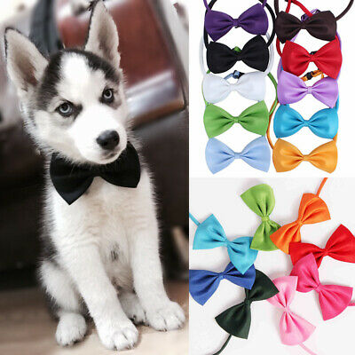 Elegant Puppy Pet Dog Cat Neck Bow Tie Necktie Bowknot Neck Strap Necktie