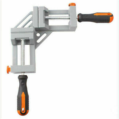 New 90°Corner Right Angle Vice Woodworking Clamps Angle Carbide Vise Work tool