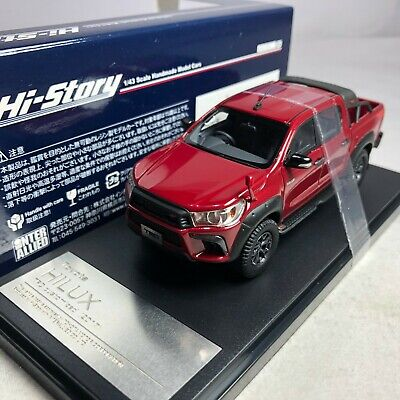 1/43 Hi-story GICO Toyota HILUX TRD 2017 Red #HS218RE
