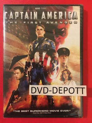 CAPTAIN AMERICA: THE FIRST AVENGER DVD {{AUTHENTIC READ}} Brand New Free Shipp