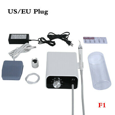 Dental Portable Ultrasonic Piezo Scaler+Handpiece+Bottle+Tip f EMS WOODPECKER F1