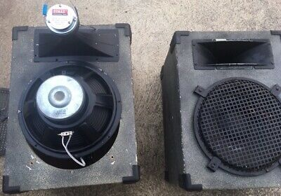 "1 x 12"" 300w + 50w PA Speaker.Top hat Handle Freight OK P/U 2263. PRICE DROP"