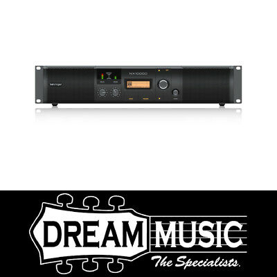 Behringer NX1000D Power Amplifier With Smartsense SAVE $80 off RRP$579