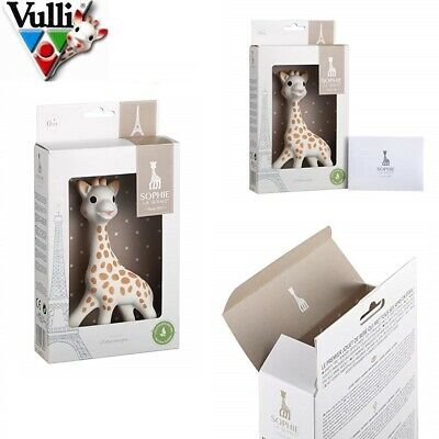 Vulli Sophie The Giraffe New Box Polka Dots perfect for soothing baby's Teethers