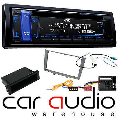 Peugeot 308 2007-2014 JVC CD MP3 USB AUX Car Stereo ISO Wiring Fitting Kit