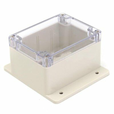 Waterproof Plastic Electronic Junction Project Box Enclosure Case 115x90x68 F4R4