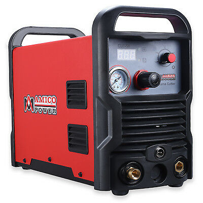 CUT-50, 50 Amp Air Plasma Cutter, 110V & 230V Dual Voltage Cutting Machine New