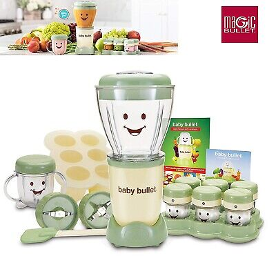 Magic Bullet Baby Bullet Care System food w blend blade batch bowl power base