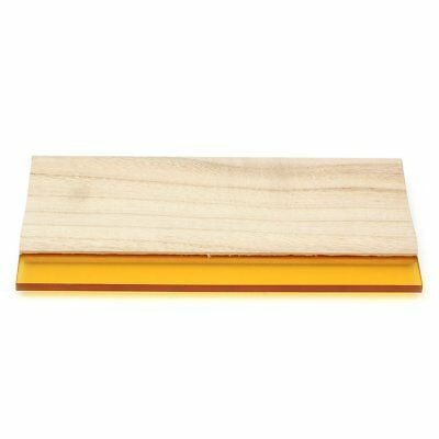 10 inch Silk Screen Printing Squeegee Single 70 Durometer Scraper Tool Q7G3