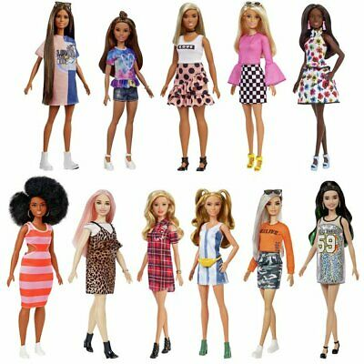 All Barbie Fashionistas Floral Doll Seeing Multicolored Stars