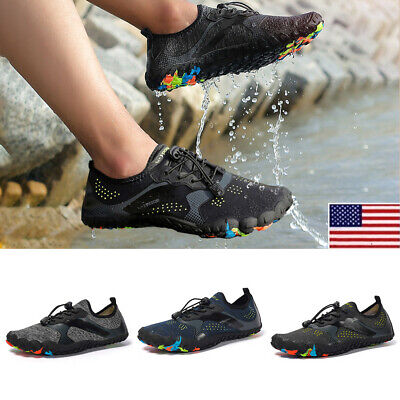 Mens Surf Sports Water Shoes Barefoot Swim Diving Aqua Casual Beach Quick Dry