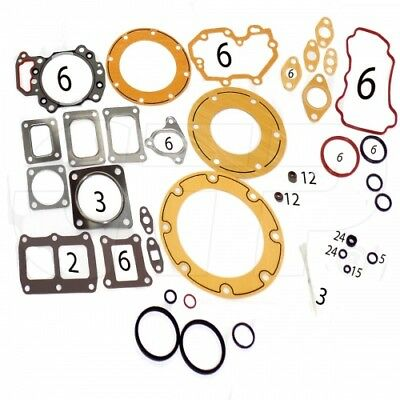 6151-K1-9901 GASKET KIT CYLINDER HEAD UPPER Komatsu New Aftermarket