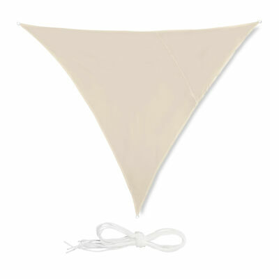 Voile d'ombrage triangle diffuseur ombre protection soleil balcon jardin UV
