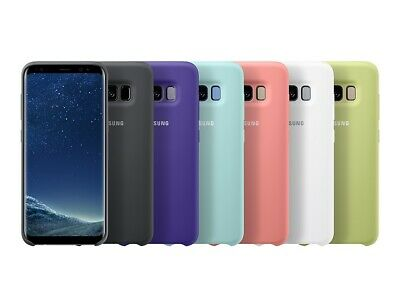 Cover In Silicone Originale Per Samsung Galaxy S8 S9 S9 Plus S10 S10+ Plus S10E
