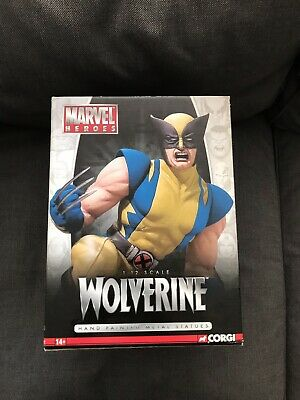 Very Rare 2006 Corgi Full Metal Marvel Heroes Wolverine Statue Limited Issue