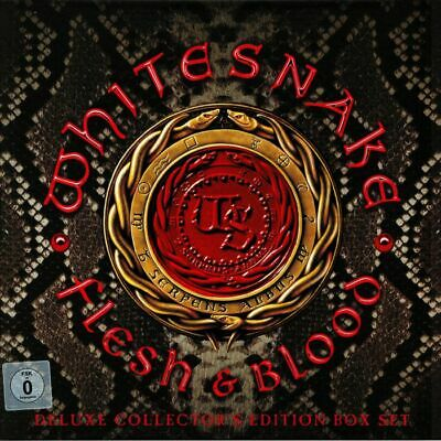 WHITESNAKE - Flesh & Blood (Deluxe Edition) - Vinyl (LP box)