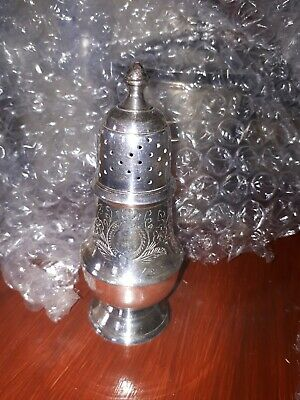 Vintage Silver Plated Sugar Sifter Shaker Superb