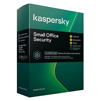Kaspersky Small Office Security 2019 | 5+5+1 | 1 Jahr