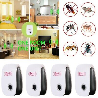 Ultrasonic Pest Reject Magnetic Repeller Anti Mosquito Mouse Insect Killer RC976