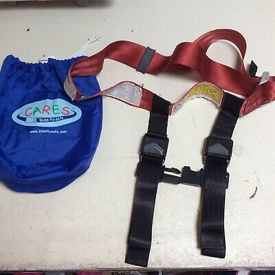 CARES Kids Fly Safe Airplane Harness used
