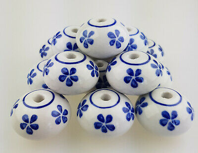 """Furniture Knob /""""without fog/"""" Body Blank 14 Pieces Hand Painted Furniture Knobs 15019"""