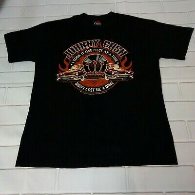 Zion Johnny Cash t-shirt size (M) Black one piece at a time 2007 vtg Cars