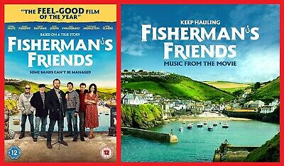 Fisherman's Friends DVD and CD Soundtrack James Purefoy NEW Sealed Fast Post