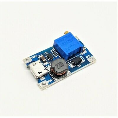 MT3608 2A Max DC-DC Adjustable Boost 2A Step Up Module MICRO USB 1017Z