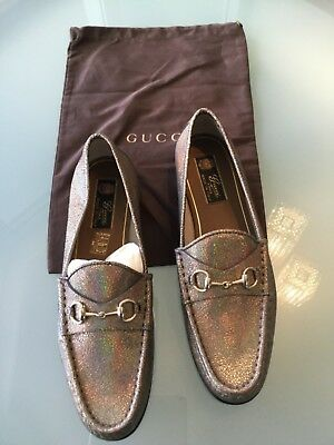 e8b11f6cbb8d6 GUCCI 1953 ITALY Womens 40.5 EUR / 10 Navy Blue Patent Leather ...