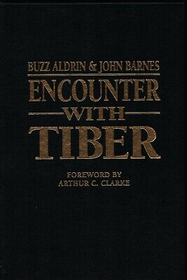 BUZZ ALDRIN Hand Signed Autographed ENCOUNTER WITH TIBER Book w/COA