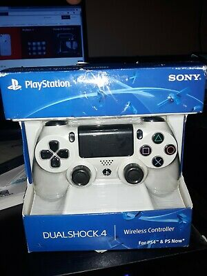Sony PlayStation 4 PS4 Dualshock 4 Wireless Controller - white glacier