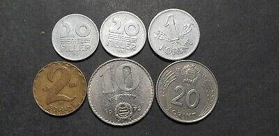 Hungary communist coin lot