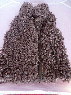 Next Girls 7-8 years Faux Fur Gilet / Body Warmer hardly been used