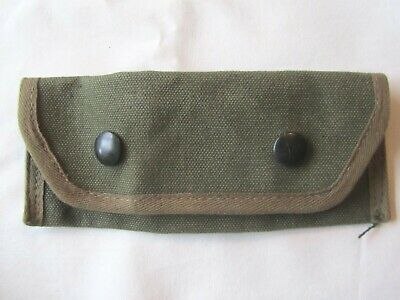Ww2 Us Military Carrying Case 7160198 Pouch For Grenade Launcher - N0S