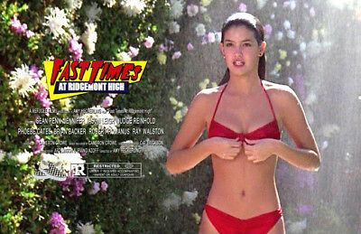 Fast Times at Ridgemont High UNSIGNED 11x17 PHOTO #3 Sean Penn Phoebe Cates