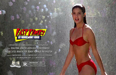 Fast Times at Ridgemont High UNSIGNED 11x17 PHOTO #2 Sean Penn Phoebe Cates